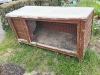 Large Rabbit Hutch FREE