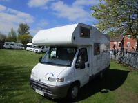 Hymer Swing 494 four berth motorhome for sale