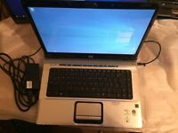 HP DV6710EA Laptop 15.4 inch Win 10, 3GB RAM 160GB HDD