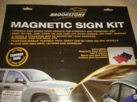 brookstone magnetic car sign
