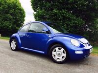 VOLKSWAGEN BEETLE 2002 1.6 LONG MOT RUNS AND DRIVES GREAT LOW MILES 89K BARGAIN