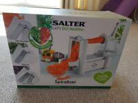 NEVER OPENED Salter Spiralizer