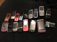 Joblot Nokia phones
