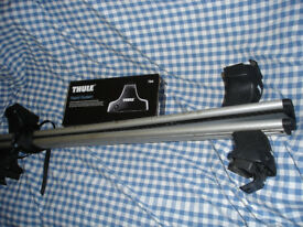 Full Thule Roofbar Roofrack System. 754 Rapid System with Keys. Aerodynamic Bars.