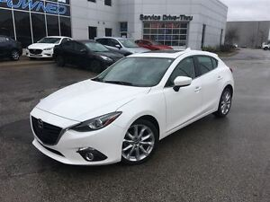 2015 Mazda MAZDA3 SPORT GT NAVI 6SPD LEATHER BOSE CAMERA