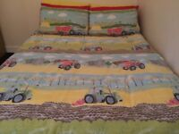 Field Days by Hiccups - Double Duvet cover together with pillowcases - 100% cotton