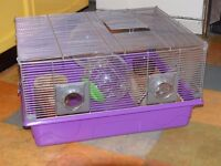 Hamster/small rodent cage.