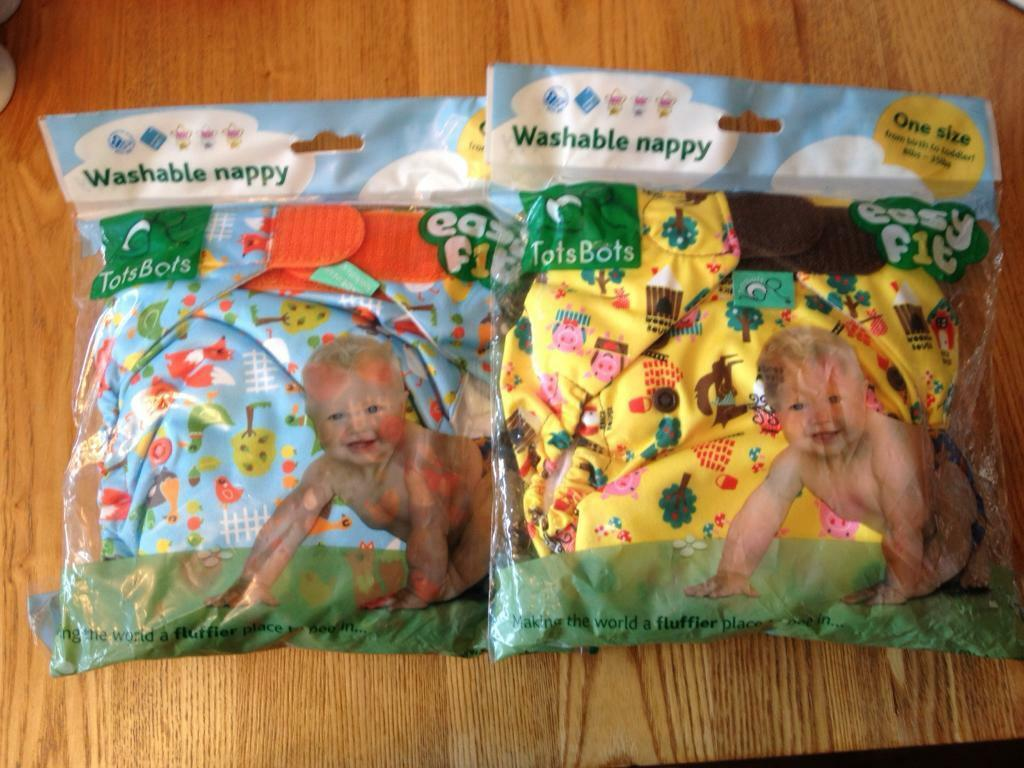 Tot bots washable nappies