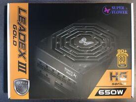 SUPER FLOWER Leadex III Gold Modular ATX PSU - 650 W