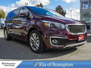 2017 Kia Sedona SXL+. 360 CAM. NAPPA LEATHER. NAVI. ROOF