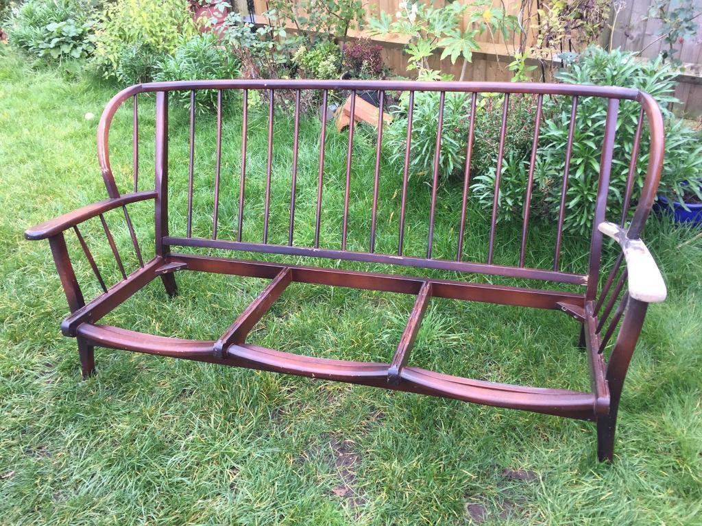 Ercol style vintage sofa frame