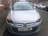 2014 63 Vauxhall Astra Exclusive 1.6 Automatic