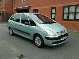 2006 CITROEN PICASSO LX 1.6 16V MANUAL PETROL - 12 MONTHS MOT WITH NO ADVISORIES
