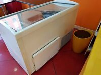 Ice Cream Display Freezer full working order