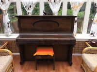 STEINBACH UPRIGHT PIANO FOR SALE includes stool