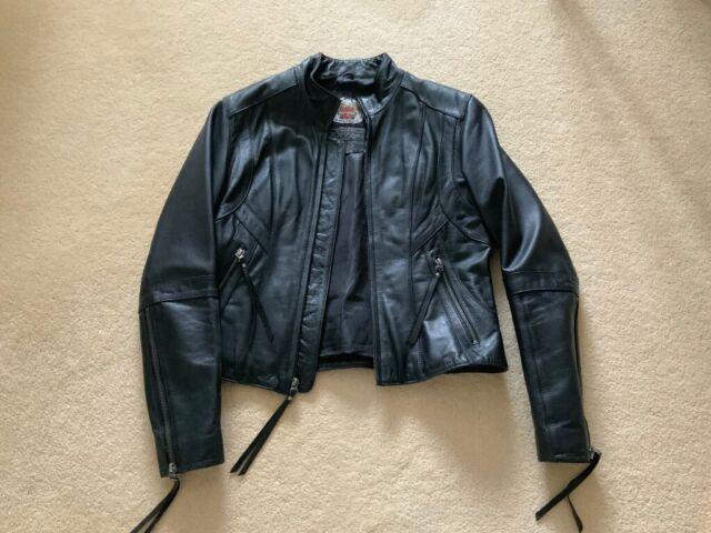 b7ee37480 Genuine Embroidered Harley Davidson ladies leather jacket size M   in  Tewkesbury, Gloucestershire   Gumtree