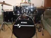 TAMA IMPERIAL STAR 5 DRUM KIT COMPLETE
