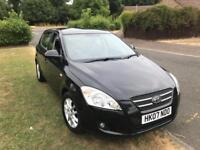 Kia Ceed 1.6 petrol manual black 5 doors