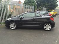 Very low miles Peugeot 207 cc GT