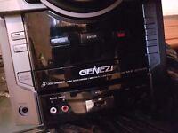 Sony hifi with 3 speakers