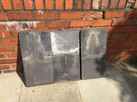 Welsh Roofing slate 24 x 12""