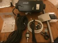 Eberspacher d4 12 volt diesel night heater with new 701 controller + new parts.