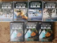 Sets of dvds world war 2....