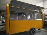 Catering Trailer Burger Van Hot Dog Ice Cream Pizza Trailer Food Cart 3000x1650x2300
