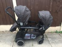 Graco modes double pushchair/ tandem stroller