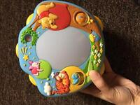 Winnie the Pooh baby cot projector