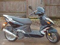 lifan aero 125 scooter
