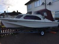 Shetland 535 fishing boat