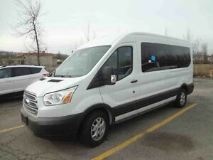 2015 FORD Transit-350 Medium Roof Wagon XLT/Nav/Bluetooth/Cruise