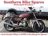 1979 Honda CB650 Z SOHC (RC03) * Breaking For Spares / Parts * CB650Z CB 650