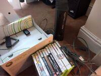 Xbox 360 Elite 120GB + various games incl GTA V (no controller)