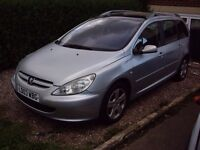 FOR SALE!! 2003 PEUGEOT 307 SW SE HDI £575!! LOW MILEAGE!!