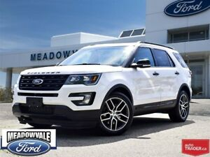 2016 Ford Explorer SPORT,NAVIGATION,LEATHER,SUNROOF