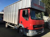 Daf lf 130 horsebox 17ft David Williams new mot very clean