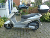 Honda SES Dylan 125. Good condition. Excellent engine. Lots of history. MOT.