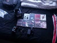 Nintendo Gamecube bundle Inc. Resident Evil, Metal Gear Solid, gameboy player etc