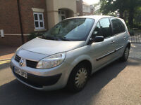 2004 RENAULT SCENICE DIESEL 1.5L * GREAT CONDITION * 100K * MOT AUG 2017 * LOADS EXTRAS * DRIVES A1