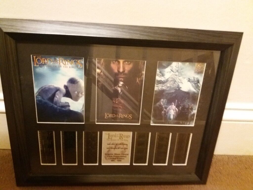 LORD OF THE RINGS THE RETURN OF THE KING LIMITED EDITION FILM CELLS