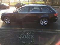 2009 58reg Audi A4 2.0Tdi S Line Avant black Automatic Sat Nav Multi Media Top Spec