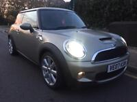 Mini Cooper S 2007 RED LEATHER PANROOF 1YEAR MOT