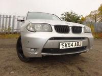 54 BMW X3 SPORT 4X4 2.5 MANUEL,MOT SEPT 018,2 OWNERS,FULL SERVICE HISTORY,2 KEYS,STUNNING EXAMPLE