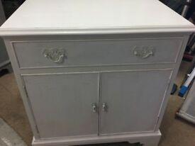 An upcycled beautiful cupboard