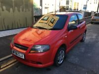 "Chevrolet kalos 1.2l ""58 plate 12 month MOT. Similar insurance to corsa punto 107 C2 Yaris"