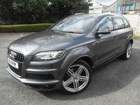 Audi Q7 TDi Quattro S Line Auto Diesel 0% FINANCE AVAILABLE