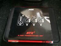 Fox NTXr 3 rod presentation set