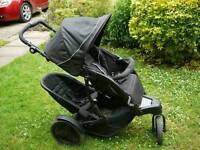 Graco duo double pushchair